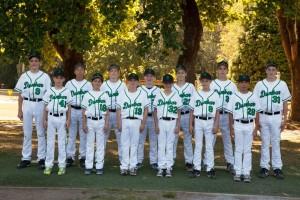 2015 Dunbar Majors Tournament Team